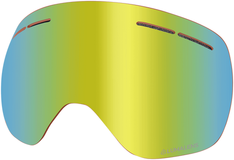 Dragon - X1s Gold Ion Snow Goggle Replacement Lens
