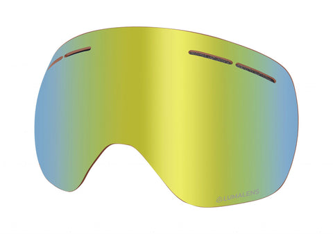 Dragon - X1S Lumalens Gold Ion Snow Goggle Replacement Lens