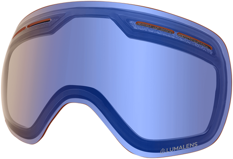 Dragon - X1s Flash Blue Snow Goggle Replacement Lens