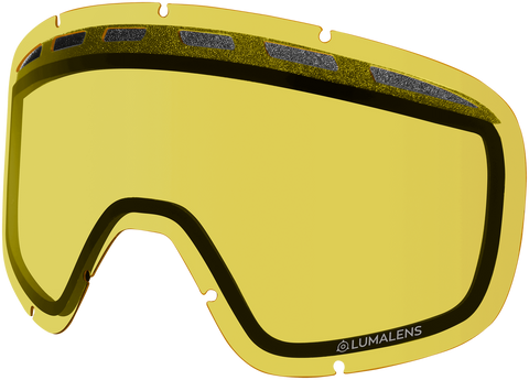 Dragon - D1 OTG Yellow Snow Goggle Replacement Lens
