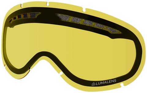 Dragon - DX Yellow Snow Goggle Replacement Lens