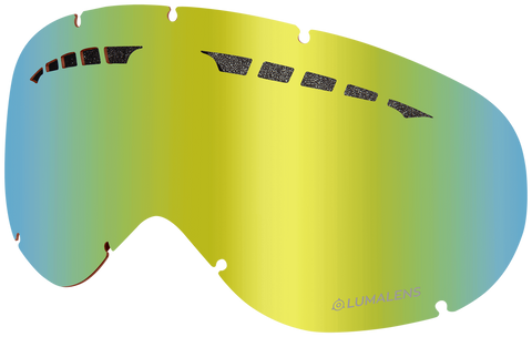 Dragon - DX Gold Ion Snow Goggle Replacement Lens