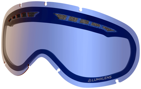 Dragon - DX Flash Blue Snow Goggle Replacement Lens
