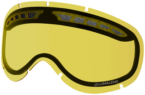 Dragon - DXs Yellow Snow Goggle Replacement Lens
