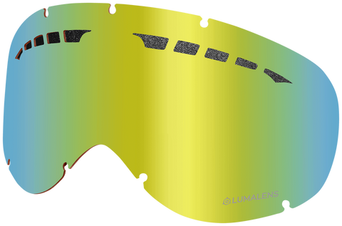 Dragon - DXs Gold Ion Snow Goggle Replacement Lens