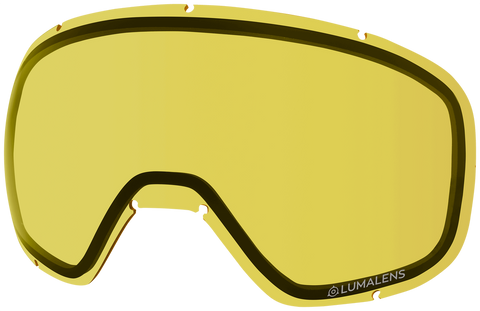 Dragon - D3 OTG Yellow Snow Goggle Replacement Lens