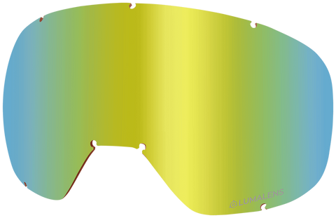 Dragon - D3 OTG Gold Ion Snow Goggle Replacement Lens