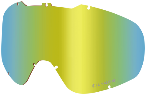 Dragon - DX2 Gold Ion Snow Goggle Replacement Lens