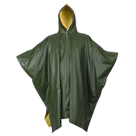 Rothco - Reversible Rubberized Olive Drab Poncho