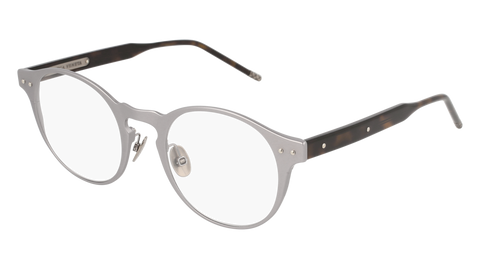 Bottega Venetta - BV0180OA Ruthenium Eyeglasses / Demo Lenses