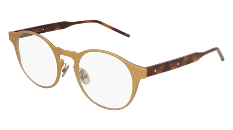 Bottega Venetta - BV0180OA bronze Eyeglasses / Demo Lenses