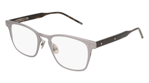 Bottega Venetta - BV0181O Ruthenium Eyeglasses / Demo Lenses