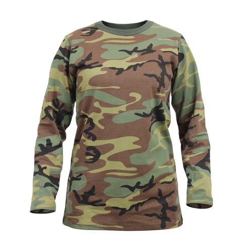 Rothco - Women's Camo Long Sleeve Tee