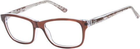Candie's - CAA136 Brown Eyeglasses / Demo Lenses