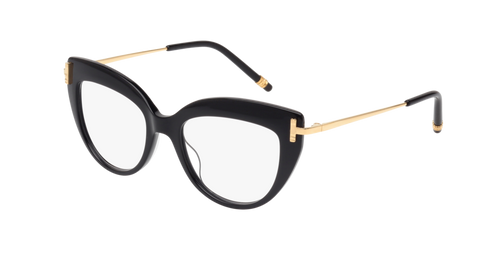 Boucheron - BC0066O Yellow Gold Eyeglasses / Demo Lenses