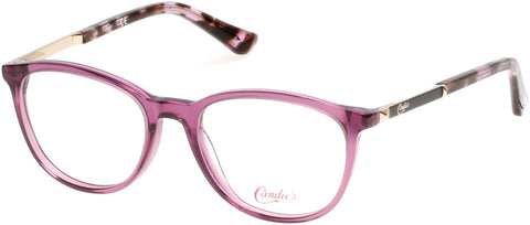 Candie's - CA0503 50mm Lilac Eyeglasses / Demo Lenses