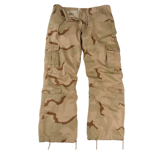 Rothco - Women's Vintage Paratrooper Tri-Color Desert Camo Fatigue Pants