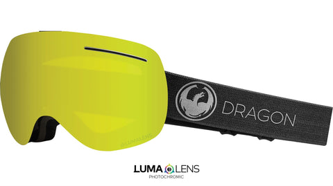 Dragon - X1 Echo Snow Goggles / Photochromic Yellow Lenses