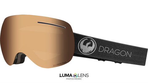 Dragon - X1 Echo Snow Goggles / Photochromic Amber Lenses