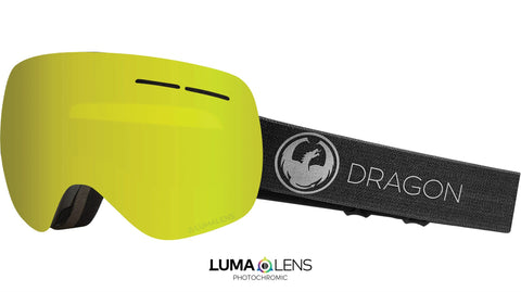 Dragon - X1S Echo Snow Goggles / Photochromic Yellow Lenses