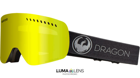 Dragon - NFXS Echo Snow Goggles / Photochromic Yellow Lenses