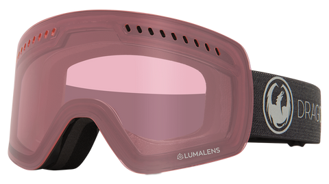 Dragon - NFXS LL Echo Snow Goggles / Photochromic Light Rose Lenses