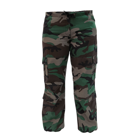 Rothco - Women's Unwashed Camo Paratrooper Fatigue Pants