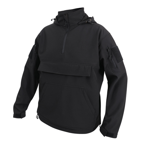 Rothco - Concealed Carry Soft Shell Black Anorak Parka