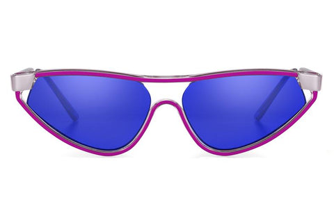 5072ac13c832 Spitfire - Snap Purple Sunglasses   Blue Mirror Lenses