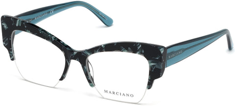 Marciano - GM0329 Turquoise Eyeglasses / Demo Lenses
