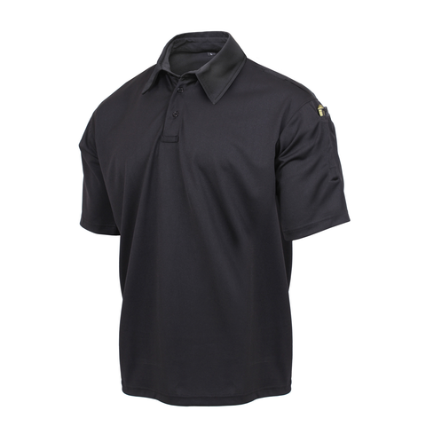 Rothco - Tactical Performance Black Polo Shirt