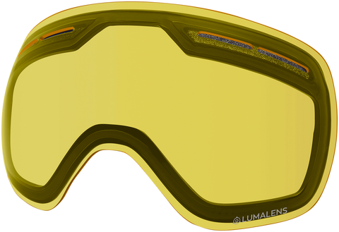 Dragon - X1s Photochromic Yellow Snow Goggle Replacement Lens