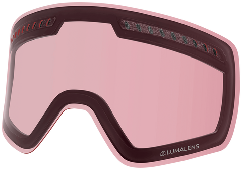 Dragon - NFXS LL Photochromic Light Rose Snow Goggle Replacement Lens