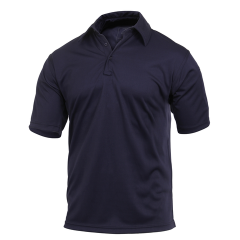 Rothco - Tactical Performance Midnight Navy Blue Polo Shirt