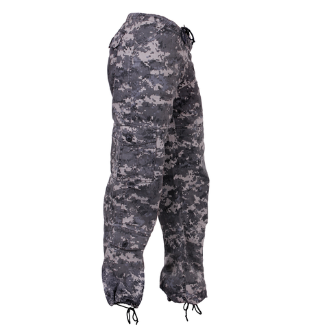 Rothco - Women's Vintage Paratrooper Subdued Urban Digital Camo Fatigue Pants