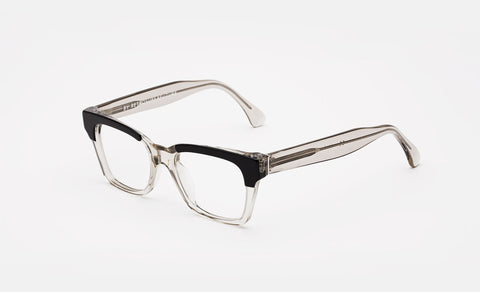 Super - America Repertoire Black Eyeglasses / Clear Lenses