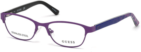 Guess - GU9170 Matte Violet Eyeglasses / Demo Lenses