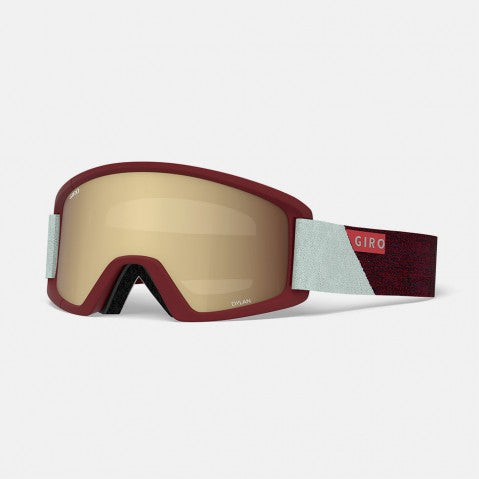 Giro - Dylan Scarlet + Grey Peak Snow Goggles / Amber Gold + Yellow Lenses