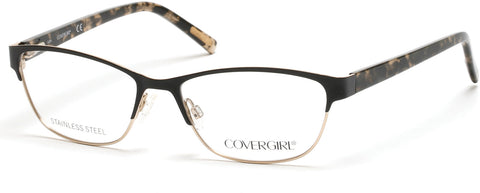 Cover Girl - CG0537 Black Eyeglasses / Demo Lenses