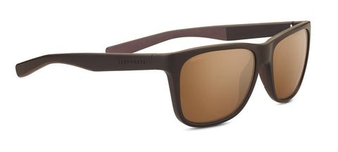 Serengeti - Livio Sanded Brown Sunglasses / Mineral Polarized Drivers Gold Lenses
