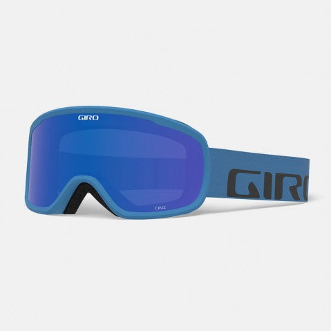 Giro - Cruz Blue Wordmark Snow Goggles / Grey Cobalt Lenses