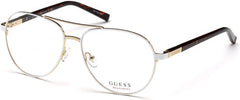 Guess - GU3029 White Eyeglasses / Demo Lenses