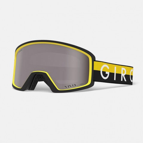 Giro - Blok Black + Yellow Throwback Snow Goggles / Vivid Onyx Lenses