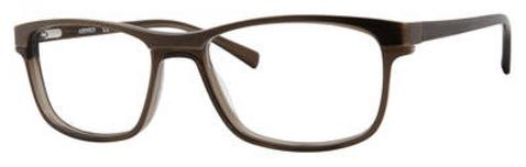 Adensco - Ad 120 54mm Brown Crystal Eyeglasses / Demo Lenses