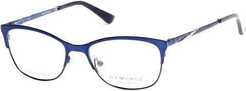 Rampage - RA0196 Shiny Blue Eyeglasses / Demo Lenses