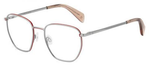 Rag & Bone - Rnb 7018 Palladium Eyeglasses / Demo Lenses