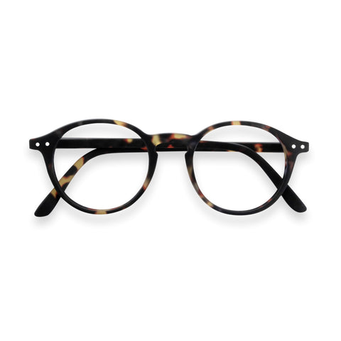 Izipizi - #D Tortoise  Eyeglasses / Screen Blue Light Clear +2.00 Lenses