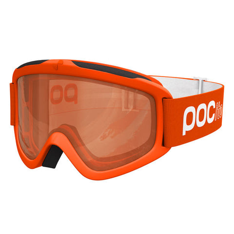 POC - POCito Iris Zink Orange Snow Goggles / Orange Mirror Lenses