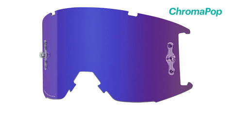 Smith - Squad XL MTB Chromapop Everyday Violet Mirror MX Goggle Replacement Lens