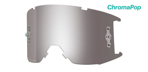Smith - Squad XL MTB Chromapop Sun Platinum Mirror MX Goggle Replacement Lens